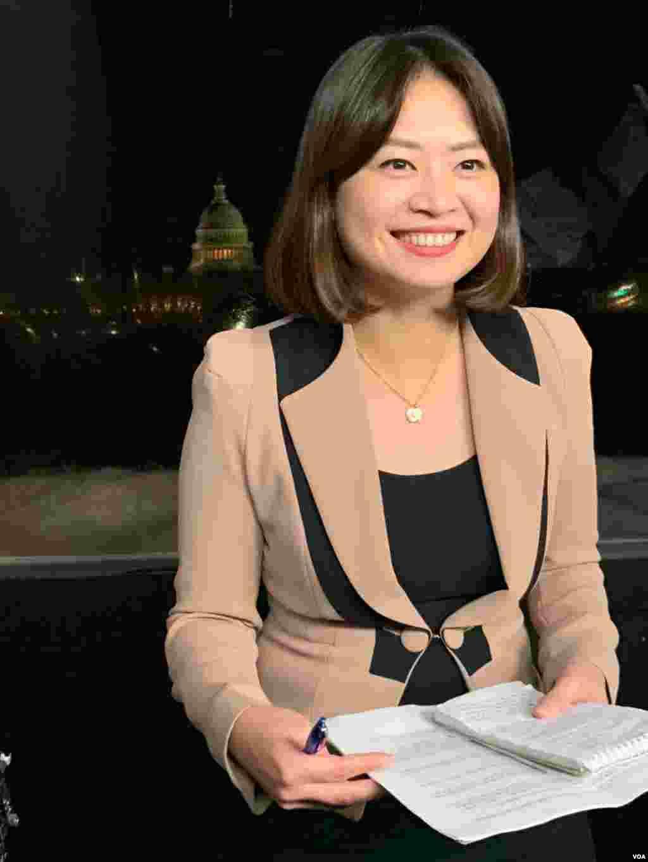 李逸华在国会前连线报道
