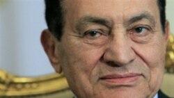 حسنی مبارک تقلب در انتخابات مصر را رد کرد