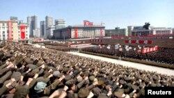 북 미사일 발사 움직임, 개성공단 중단