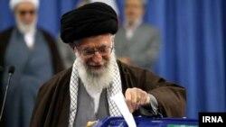 伊朗最高领袖哈梅内伊。(资料照片)