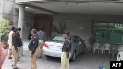 Pakistanska policija ispred kuće otetog Amerikanca