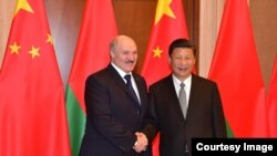 Александр Лукашенко и Си Цзиньпин. 2017 год. Photo: president.gov.by (Official publication)