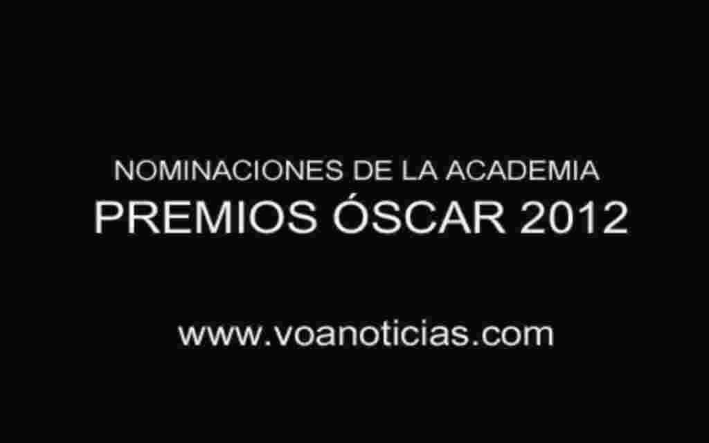 Nominaciones del Óscar 2012