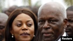 Prezida wa Angola, Jose Eduardo dos Santos