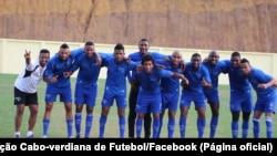 """Selecção de Cabo Verde """"Tubarões Azuis"""""""