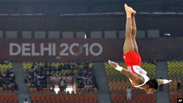 Ấn Ðộ đang cai Ðại hội Thể thao của Khối Thịnh vượng Chung năm 2010.