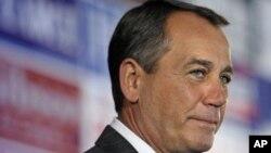 ຜູ້ນຳຂອງພັກຣີພັບຣີກັນ ໃນສະພາຕໍ່າຂອງສະຫະລັດ ທ່ານ John Boehner