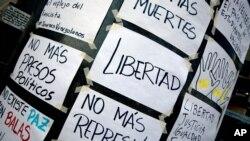En el 2014 los estudiantes reclamaron a Maduro por la violación de derechos fundamentales.