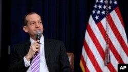 Sekretar za rad SAD Alexander Acosta