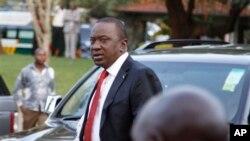 Ứng cử viên tổng thống Kenya Uhuru Kenyatta