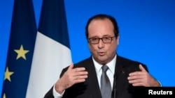 法國總統奧朗德 (資料照片)