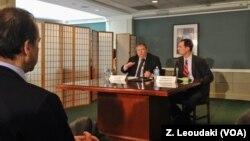 Ο Πρόεδρος του ΠΑΣΟΚ μιλά στο κέντρο Woodrow Wilson
