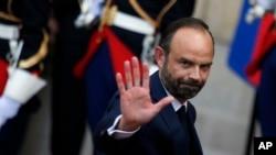 PM Perancis Edouard Philippe di Paris, 15 Mei 2017. (Foto: dok).