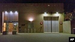 Vue extérieure de la prison de Scheveningen, où se trouve Laurent Gbagbo