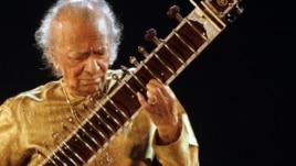 Indian sitar player Ravi Shankar performs in Kolkata, India, on Feb. 7, 2009.