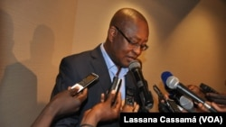 Victor Pereira, porta-voz do PRS, Guiné-Bissau