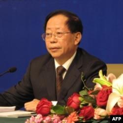 中国农业部副部长危朝安在两会记者会上