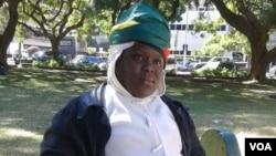 Linda Masarira of the Zimbabwe Women in Politics.