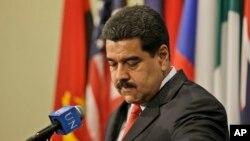 委內瑞拉總統馬杜羅。(資料圖片)