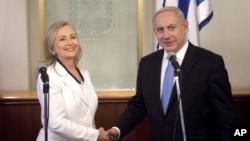 Хиллари Клинтон и Биньямин Нетаньяху (Фото из архива)
