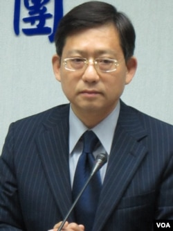 國民黨立委 吳育升( 美國之音 張永泰拍攝)