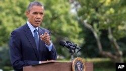 El presidente Barack Obama anunció que Estados Unidos impuso nuevas sanciones económicas a Rusia este 29 de julio.