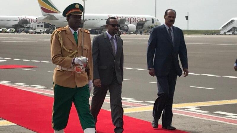 Le président érythréen célèbre les retrouvailles avec l'Ethiopie lors d'une visite historique
