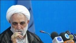 غلامحسین محسنی اژه ای سخنگوی قوه قضاییه در کنفرانس خبری