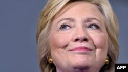 La candidate démocrate Hillary Clinton parle lors d'un rassemblement, le 21 septembre 2016 à Orlando, en Floride. (AFP / Brendan Smialowski)