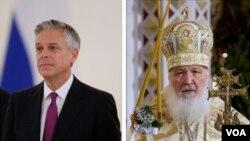 Джон Хантсман и патриарх Московский и всея Руси Кирилл