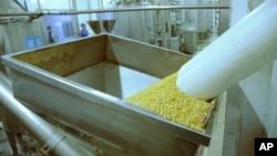 林建雄表示大豆供應價每年有幾成甚至一倍增長