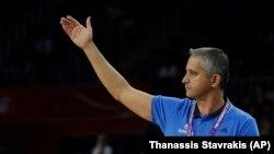 Igor Kokoškov prošlog leta u Istanbulu, dok je predvodio Sloveniju do zlatne medalje na Eurobasketu
