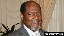 Former Mozambican president Joachim Chissano