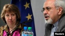 Catherine Ashton et le ministre iranien des Affaires étrangères,Mohammad Javad Zarif, se retrouvaient ce mercredi à Genève