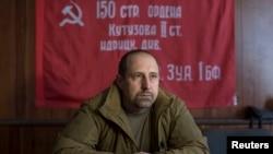 乌克兰顿涅茨克亲俄分离主义武装一名指挥官
