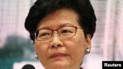 Honq Konq lideri Karri Lam