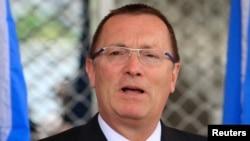 FILE - United Nations Under-Secretary-General for Political Affairs Jeffrey D. Feltman, June 27, 2013.