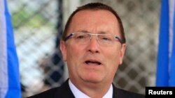 FILE - U.N. Under-Secretary-General for Political Affairs Jeffrey D. Feltman, June 27, 2013.