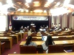 한국 대학생들, 한반도 통일 미래 모의국회 개최