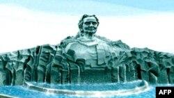 Phác thảo Tượng đài bà Mẹ Việt Nam Anh hùng