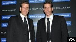 Los gemelos Cameron y Tyler Winklevoss peleaban una indemnización mayor a los $65 millones de dólares de parte de Facebook, pactada previamente.