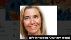 Федеріка Могеріні. Фото з Twitter @FedericaMog