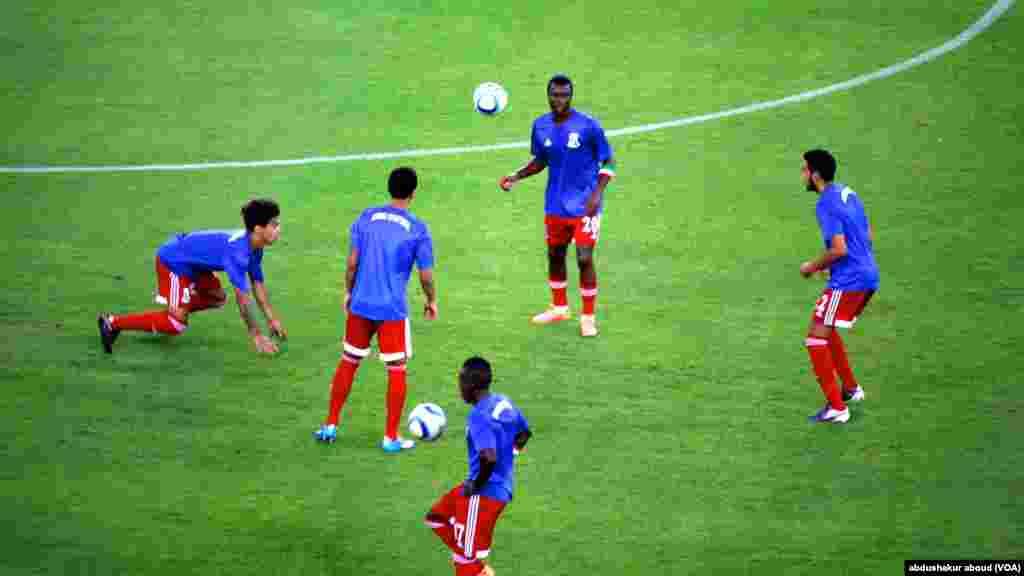 'Yan wasan Equatorial Guinea.