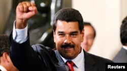 El presidente Nicolás Maduro parece seguir al pie de la letra la política de hostilidad con EE.UU. trazada por Chávez.