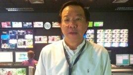 Sermsuk Kasitipradit, senior editor, Thai Public Broadcasting Service, VOA/Steve Herman, Aug. 27, 2013.