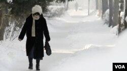 En Sofía, capital de Bulgaria, la temperatura ha bajado a mínimos récord.