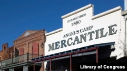 "Angels Camp is California's most famous Gold Rush town, thanks to writer and humorist Mark Twain, who made the town in Calavares County the setting for his 1865 short story, ""The Celebrated Jumping Frog of Calaveras County."""