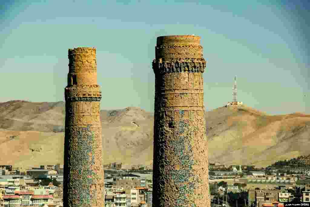 منارهای مصلی از آبدات تاریخی و فرهنگی افغانستان به شمار میرود