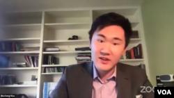 """""""东海岸宽容与不歧视联盟""""发起人Bincheng Mao"""