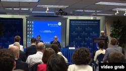 """Panel """"Zapadni Balkan: Upravljanje izazovima"""" na Univerzitetu Džons Hopkins u Vašingtonu"""